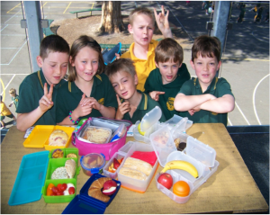 Chatham Primary School students support healthy bodies + a healthy planet