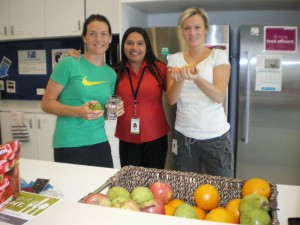 Healthways Australia incorporated Nude Food Day with workout Wednesday