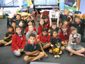 Point View School in New Zealand had a lot of fun on Nude Food Day!